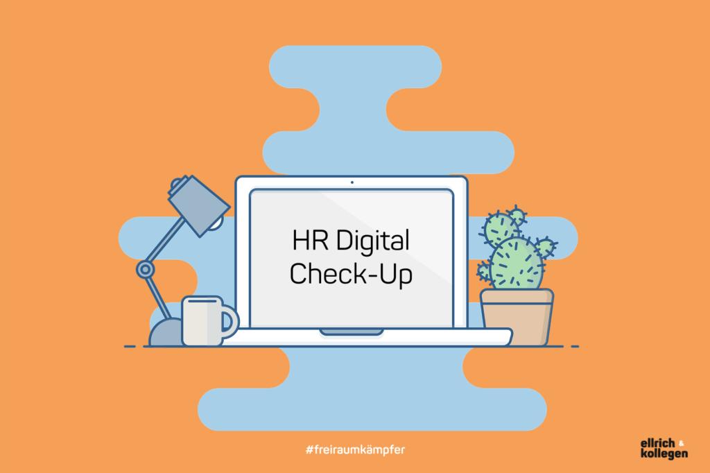 NEU: Mit unserem HR Digital Check-Up finden Sie heraus, wie digital Ihre Personalabteilung ist