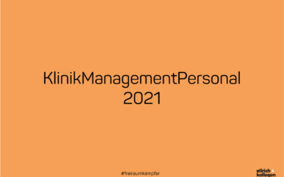 Eventempfehlung: KlinikManagementPersonal 2021