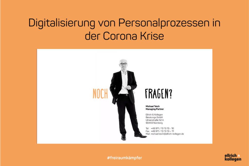 """Unser Vortrag """"Digitalisierung von Personalprozessen"""""""